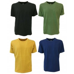 BKØ linea MADSON t-shirt uomo jersey pesante DU19142 100% cotone MADE IN ITALY