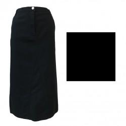 ELENA MIRÒ gonna donna con zip e elastico in vita dietro 98% cotone 2% elastan