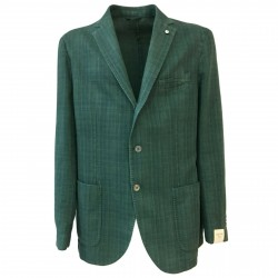 LUBIAM 1911 unlined jacket man square green