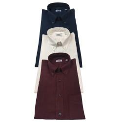ASPESI camicia uomo blu, manica lunga, modello B.D. MAGRA CE14 C195 100% lino