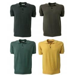 ALPHA STUDIO men's polo art AU-9008BS 100% cotton
