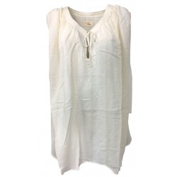 MY SUNDAY MORNING blusa over woman ivory mod NOAH 52% viscose 48% cotton