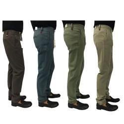 ZANELLA man brown pants fit slim mod HORSE / M 96% cotton 4% elastane