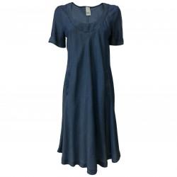 ETiCi woman dress sleeveless denim art A1/9446 100% lyocell MADE IN ITALY
