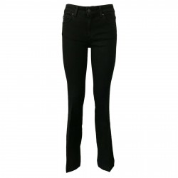 CIGALA'S ATELIER women's jeans low waist mod 16-125-4H BELL BOTTOM MADE IN ITALY