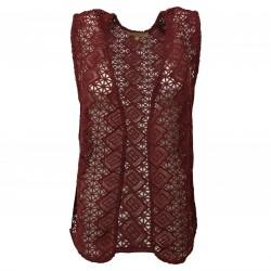 HUMILITY 1949 Women's vest bordeaux mod HA6070 100% polyester