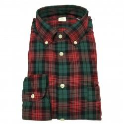MGF 965 man shirt red check mod 92 L.T 100% cotton