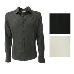 GIRELLI BRUNI maglia camicia uomo mod. X 958 L grigio
