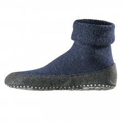 FALKE men's socks skidproof dark blue merino wool mod 16560 COSYSHOE