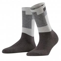 FALKE women's socks anthracite cotton/wool art 46323 Marble Brick
