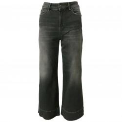 ATELIER CIGALA'S Jeans donna grigio mod 16-167 PALAZZO CROP VAR8Y MADE IN ITALY