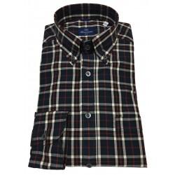 BRANCACCIO camicia uomo button-down con taschino mod NICK ABF1412