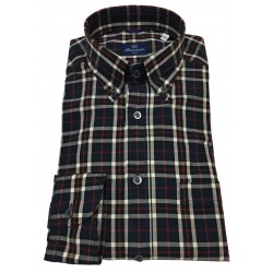 BRANCACCIO man button-down shirt with pocket mod NICK ABF1412