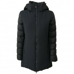 NORWAY Woman coat black 90% down + 10% feather mod ANJA 95782