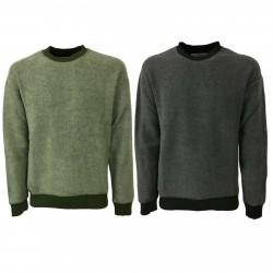 BKØ man sweater cotton/wool mod DU19543 MADE IN ITALY