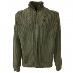 FERRANTE cardigan man with zip mod 42U22025 100% wool MADE IN ITALY