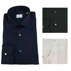 BRANCACCIO man long sleeve shirt mod LUKE ABHA02 100% cotton