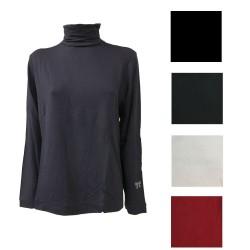 MARINA SPORT by Marina Rinaldi t-shirt woman long sleeve high neck mod ZENT