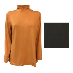 ELENA MIRÒ women t-shirt orange color 96% viscose 4% elastane