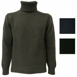 TREDICINODI men's sweater 70% wool 30% cashmere mod M13101 MADE IN ITALY