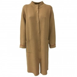 ANNA SERAVALLI woman coat wool/cashmere mod S722 MADE IN ITALY