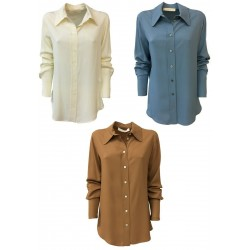TELA long woman shirt, long sleeve mod PERIODO MADE IN ITALY