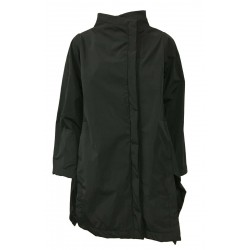 TADASHI woman jacket lined in black taffettas mod TAI206047 asymmetric MADE IN ITALY