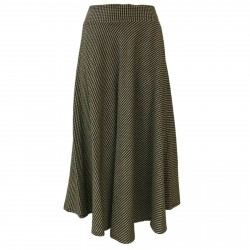 ALPHA STUDIO women's wool skirt with elastic art AD-2600M MADE IN ITALY