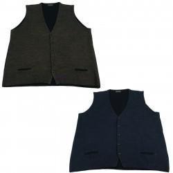 FERRANTE man vest wool/cashmere mod 42U36402 MADE IN ITALY