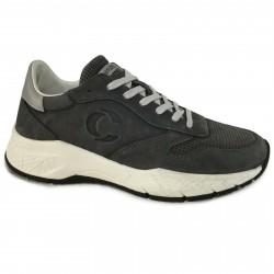 CRIME LONDON Sneakers uomo grigio in pelle effetto vintage mod FUSE 11232PP2.33