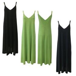 BE LIMOUSINE V-neck suspenders dress behind mod LV099L LUCE
