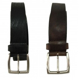 D'AMICO man belt 100% leather mod ACU2676 MADE IN ITALY