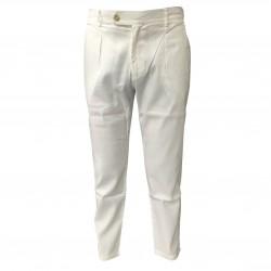 BKØ linea MADSON pantalone uomo lino RAINER DU18012 MADE IN ITALY