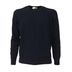 DELLA CIANA girocollo uomo BLU 80% lana 20% cashmere 62/18022 MADE IN ITALY