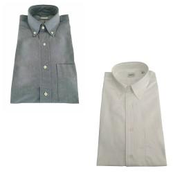 ASPESI man oxford shirt white, button-down with pocket model EC14 E743 B.D.MAGRA, 100% cotton