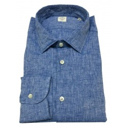 MGF 965 man shirt light denim long sleeve with pocket mod 10.TG.L 901401