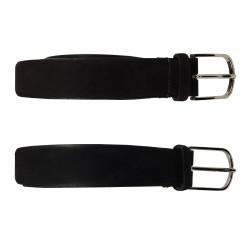 MANIERI man belt nubuck height 3.5 cm 100% leather MADE IN ITALY