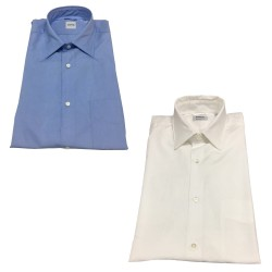 ASPESI camicia uomo mod SEDICI azzurro 100% cotone