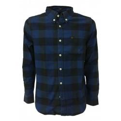 LEE shirt man blue/black mod L882LHCZ 100% cotton