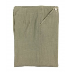FLY3 Beige woman pants mod PD640 100% linen MADE IN ITALY