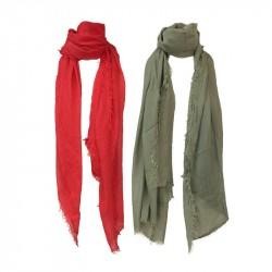 LA FEE MARABOUTEE foulard donna mod FB7728 100% modal MADE IN ITALY