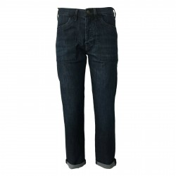 ATELIER CIGALA'S jeans donna blu scuro 17-181 BOY FATIGUE 4Y MADE IN ITALY