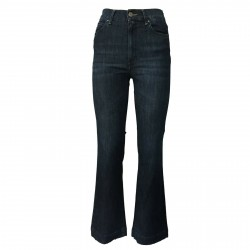ATELIER CIGALA'S stone washed woman jeans mod 17-136-4 BELL BOTTOM var 4Y MADE IN ITALY