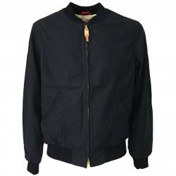 MANIFATTURA CECCARELLI blue unlined man jacket mod 6020 DE 100% cotton MADE IN ITALY