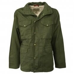MANIFATTURA CECCARELLI man jacket unlined green mod 6018 DE 100% cotton MADE IN ITALY