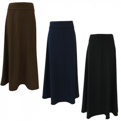 LABO.ART woman long jersey skirt mod FIASCO JERSEY MADE IN ITALY