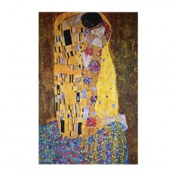VESTILARTE The Kiss scarf - Gustav Klimt 110 cm x 150 cm MADE IN ITALY