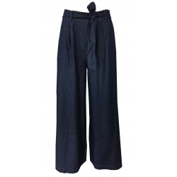 HUMILITY 1949 wide woman trousers light jeans mod HB1090 MADE IN ITALY