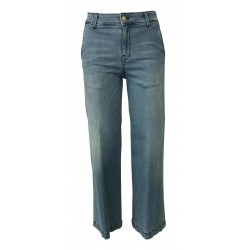 7.24 jeans donna denim chiaro mod IVY MADE IN ITALY