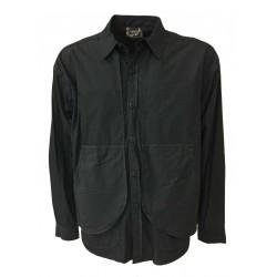 BottegaChilometriZero giacca/camicia nero mod DU20021 SULLY MADE IN ITALY